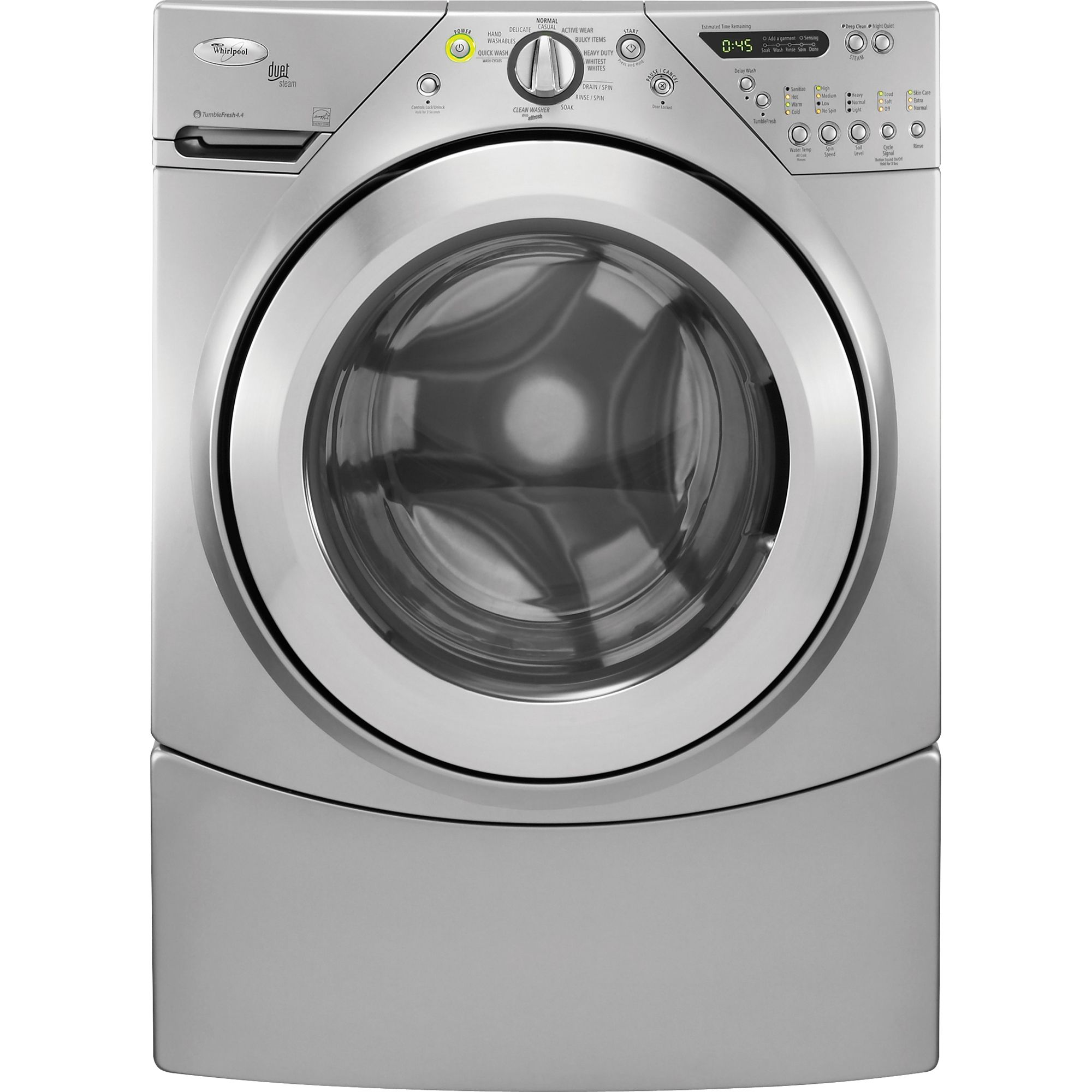 Whirpool washer maintenance